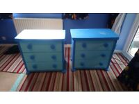 Childrens bedroom furniture and bed