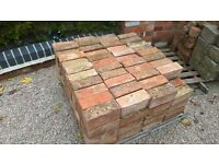 Various Reclaimed Bricks / Pavers (Assorted) - Collection Only