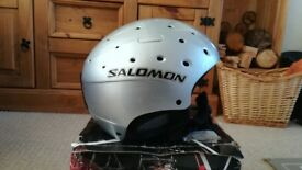 Salomon Snowboard Helmet Silver