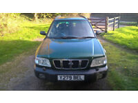 Subaru Forester Estate 2.0 Petrol with Yokahama Tyres, New Battery, Recent Servicing, Spares Repair