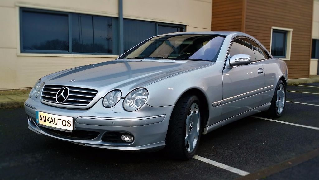 2004 Mercedes Benz Cl600 Bi Turbo 500 Bhp Auto Brilliant