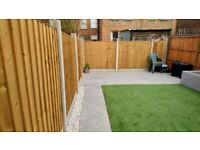 DRIVEWAYS,FENCING,TURFING,FLOORING,SLABS,EXPERTS IN EAST LONDON