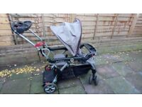 Double buggy ,stroller with board