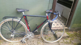 "Charlie Roberts Audax Touring bike, 55cm, 21.5"",Campagnolo, Reynolds 725 Chromo"