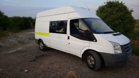 ford transit welfare mk7 2.4 6 seater SWAPS or sell