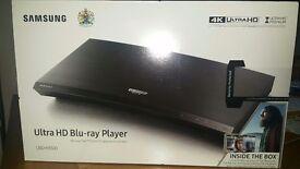 Samsung Ultra HD Blu-ray Player + 3 film's!!!