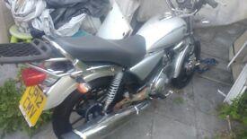 Yamaha YBR custom 125 cc 2012 [non runner]