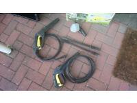 Karcher K series hose for sale + nozzle + foam dispenser