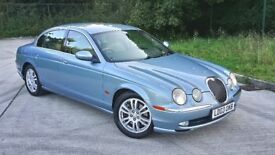 JAGUAR S TYPE PLUS MODEL RARE 4.2V8, 12 STAMPS, SAT NAV, XENON,300BHP