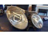 2007 Mercedes E Class Headlight Driver Side W211 ***spares or REPAIRS***