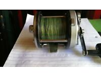 ABU 12 multiplier fishing reel don,t see these in this condition too often +braid