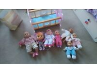 Baby Annabell, Cry baby and other baby dolls/accessories