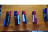 permanent marker sets 5 available