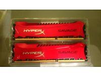 HyperX Savage RAM DDR3 2133 MHZ 2x8GB