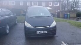 Toyota Previa 2003 D4D Spares or Repairs