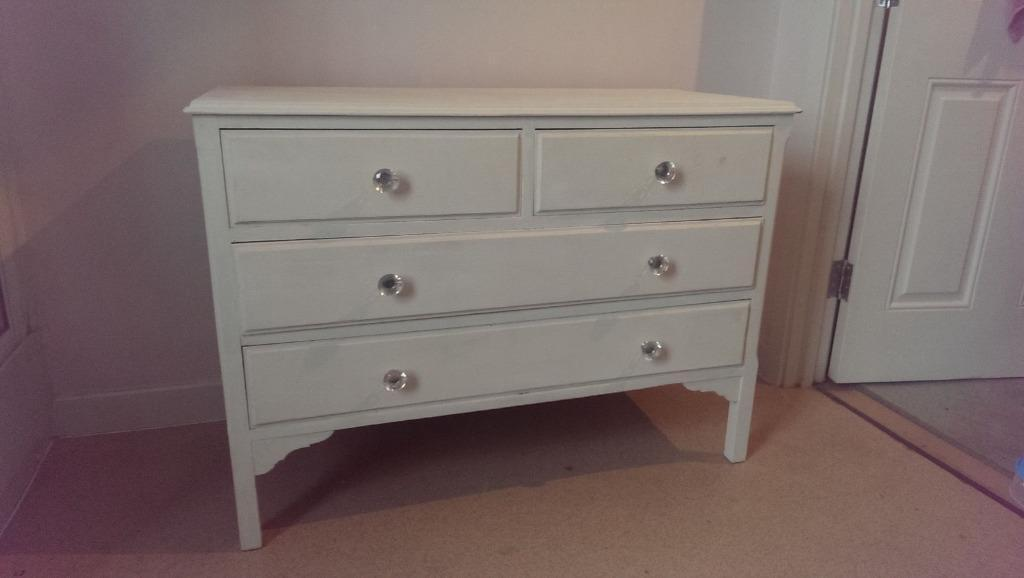 White laura ashley 6 draw drawer buy sale and trade ads for Furniture kingdom benfleet