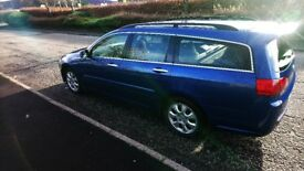 Honda Accord Estate 2.2 i-CTDi, 07 plate, year MOT