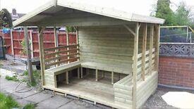 We custom made sheds and summerhouse, any size made