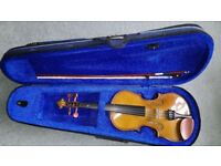 Stentor Student 1 violin outfit 1/2 size - excellent condition