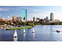 Boston holiday - return flight from Gatwick