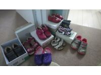 Various girls shoes sizes 4-8