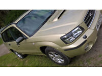 52-plate Gold Subaru Forester 2.0XT with dealer stamps and all the extras