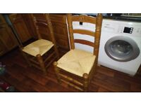 Dining Chairs x 6 - Reduced to £60 - Need refurbished
