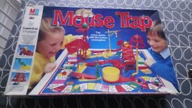 Vintage MB Games Mousetrap 1989 complete
