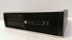 PC, HP Compaq 8200 Elite Core i5 3.10 GHz, 250 GB 4 GB PC Desktop Windows 7