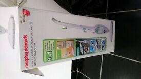 9 in 1 Upright and Handheld Steam Cleaner