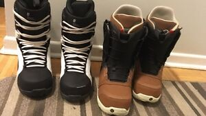 Selling used snowboard boots $80 a pair