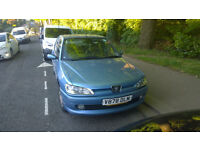 1999 Peugeot 306 LX MOT due to expire