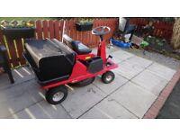 Ride on lawnmower lawnflite 404