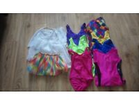 Girls ballet and tap outfits and footwear