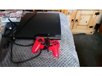 PS3 CONSOLE WITH 10 GAMES