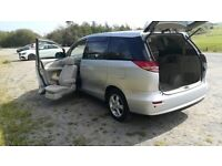 Toyota Estima X Wellcab ,Automatic, 8 seats, Disability access front seat, Low miles