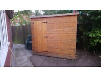 8x6 good quality garden shed