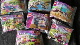 Lego Friends Collection of 7 Sets