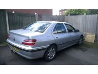 Peugeot 406 2.2 HDI Executive (with black leather seats and sunroof & A/C)