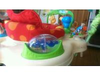 Fisher and price Cradle swing and jumperoo