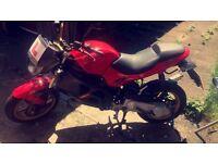 '08 Reg Gilera DNA 50cc sportsbike
