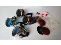 Welding Goggles / Novelty Sunglasses for Cosplay or Fancy Dress