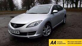 2009 Mazda 6 2.2 TS Diesel**Warranted Mileage**1 Owner**Service History**Bluetooth**1 Year MOT