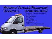 Movano Vehicle Recovery. Local/national vehicle transportation service.