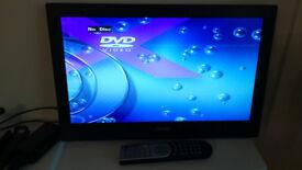 """TV DVD JMB 19"""" LED USB Freeview - 12V"""