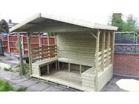 We make custom sheds and summerhouses, any size made