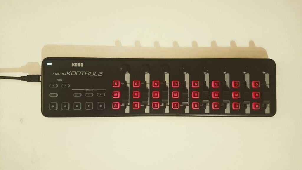 Korg NanoKontrol2 Slimline USB Midi Controller Black with USB cable | in  Kilburn, London | Gumtree