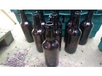 89 X 500ml BROWN / AMBER GLASS BEER CIDER BOTTLES HOMEBREW