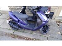 50cc 2t running fine. March mot. Cheapest runner