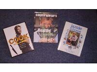 Cook books - Jamie Oliver, Gordon Ramsay's